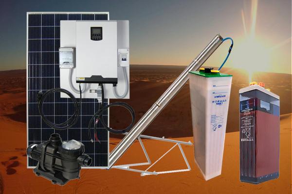 equipos y material de energia solar fotovoltaica